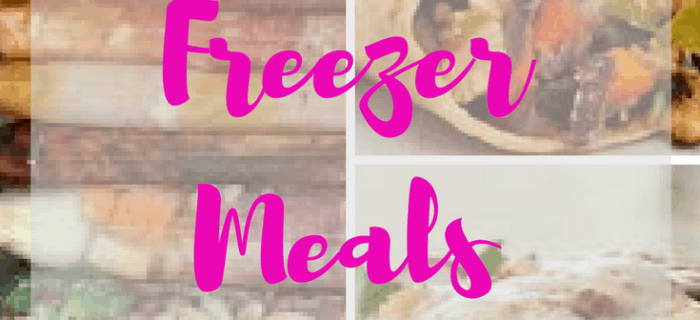 A Pregnant Mom's Guide to Freezer Meals