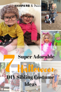 Starting to think about Halloween? Get some great ideas for costumes. Perfect for siblings. Most are easy enough to DIY. Keep your kids memories full of love with your handmade costumes. They'll enjoy thinking back at the good ones and the not-so-good ones! You'll have so much fun making them. You'll be hooked and convinced it's the only way to go. Telling all your friends how crafty and creative you are. Even though you really don't need to be with how simple these are to put together! Just break them down in to small, manageable sections. Don't sew? No problem. You can usually find no-sew options, or find a friend or relative who might be willing to lend a hand. Be sure to offer compensation if they don't offer right away. Enjoy your Halloween Costume planning!