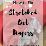 How To Replace Diaper Elastics With a Serger