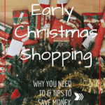Early Christmas Shopping