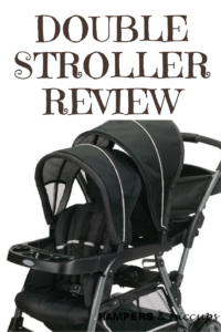 Graco Double Stroller Review Ready2Grow click connect system black stroller hampersandhiccups