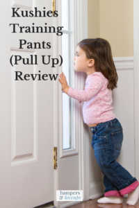 Kushies Training Pants (Pull Up) Review toddler girl ready to go to the city hampersandhiccups