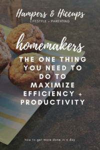 Are you new to homemaking? Are you a new housewife? Are you overwhelmed with the to-do list every day? You need to focus on this one little habit to increase productivity as a homemaker. Keep up with this one room and you'll be a better homemaker. Have a better quality of life. Happier family. Maximize efficiency. Boost productivity. Get more done in a day. Do it all.