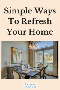 Simple ways to refresh your home dining room table with 6 chairs hampersandhiccups