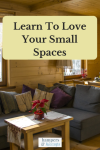 Learn to love your small spaces tiny room of living room and dining room furniture hampersandhiccups