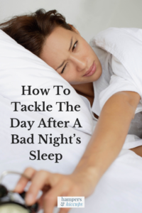 How To Tackle The Day After A Bad Night's Sleep