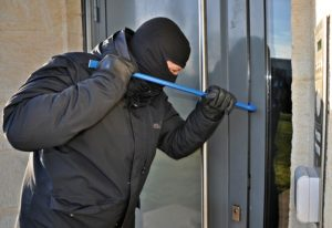 Protecting Your Home from a burglar wearing a black mask