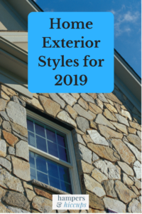 Home exterior styles for 2019 stone siding similar to surroundings to blend home into landscape hampersandhiccups
