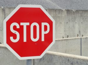 The Internet stop sign