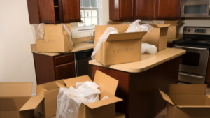 Moving this year - plenty of boxes to pack and unpack kitchen items