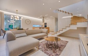 Making the most of your home open stairway