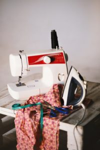 Making ends meet as a mom make clothing last longer by sewing