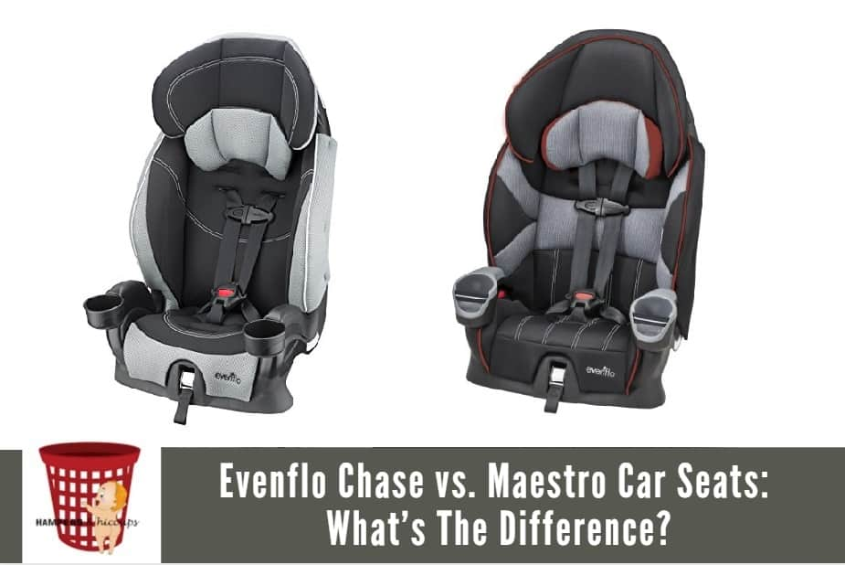 we look at the similarities and differences between the evenflo chase vs maestro car seats