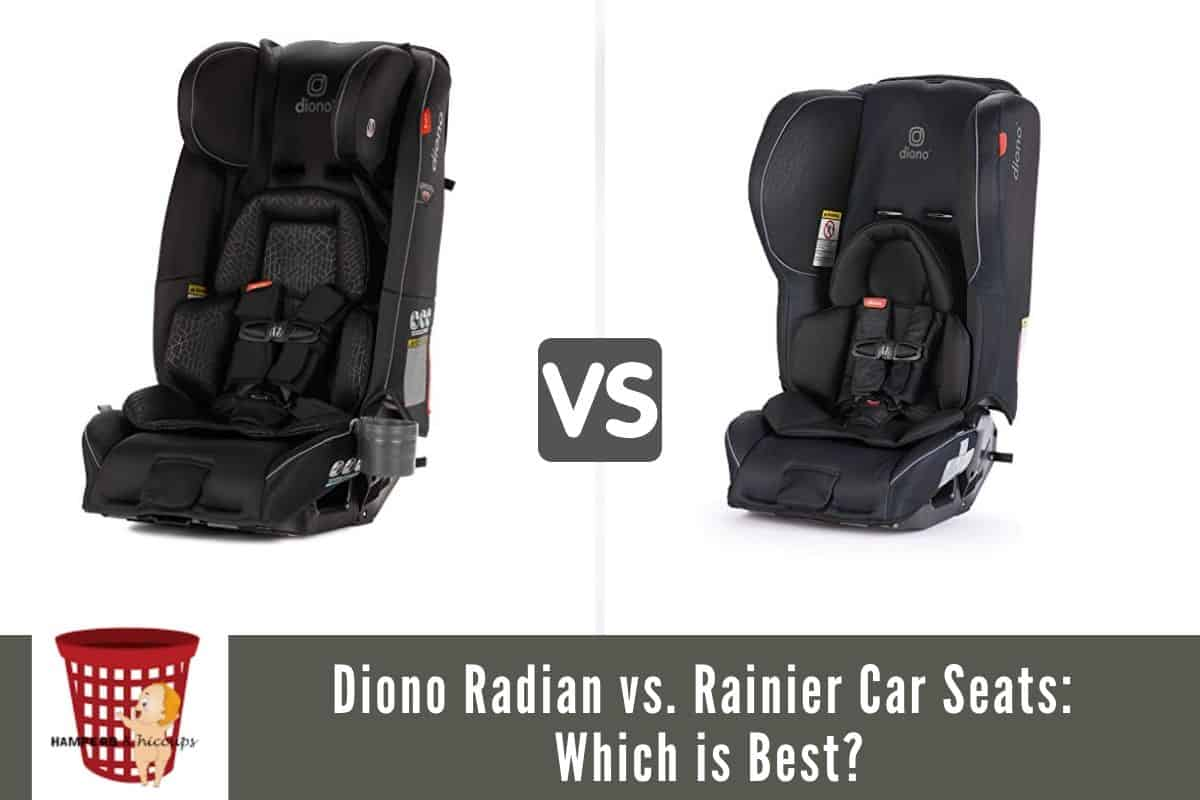 Diono Radian vs. Rainier Car Seats: Which is Best?