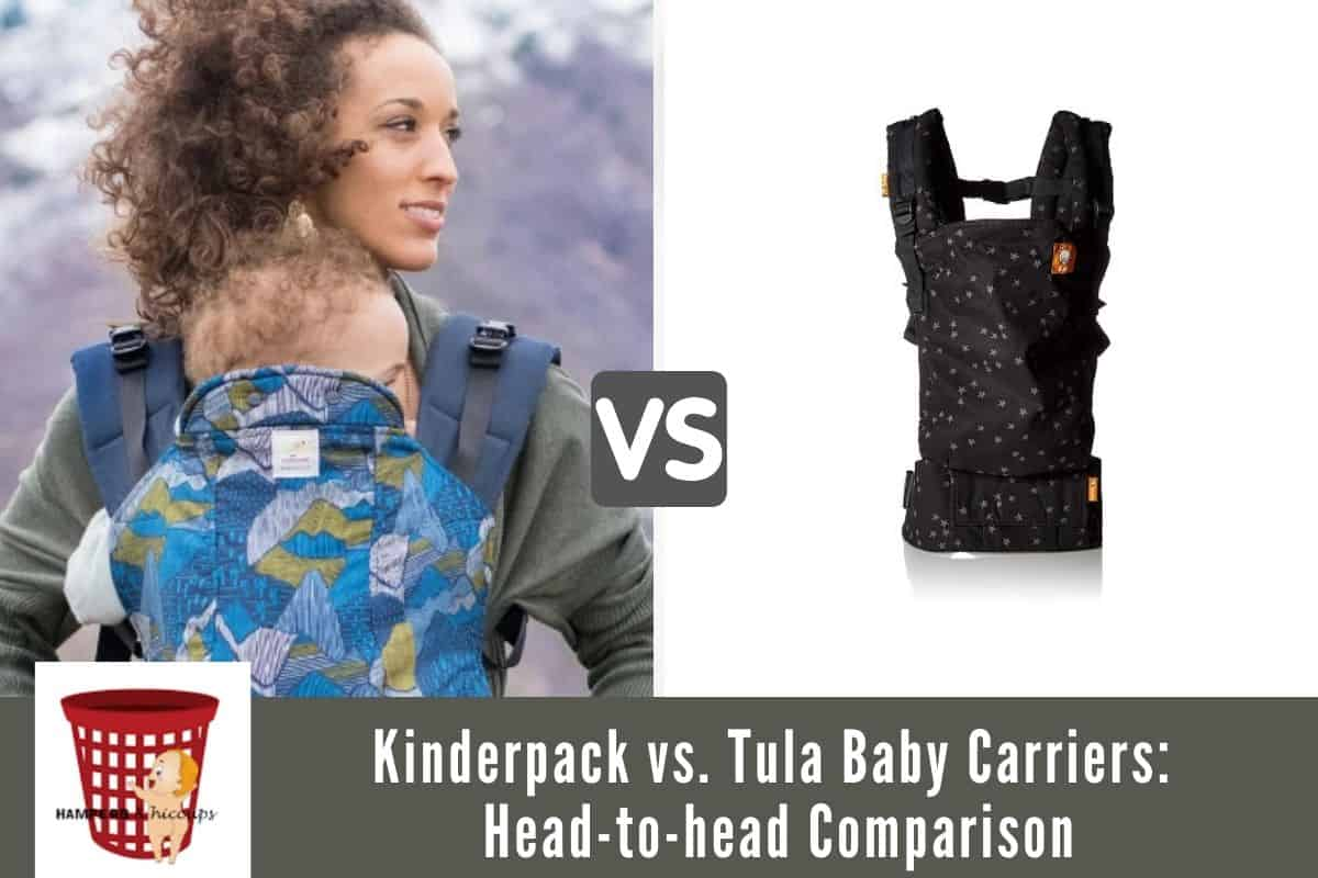 Kinderpack vs. Tula Baby Carriers