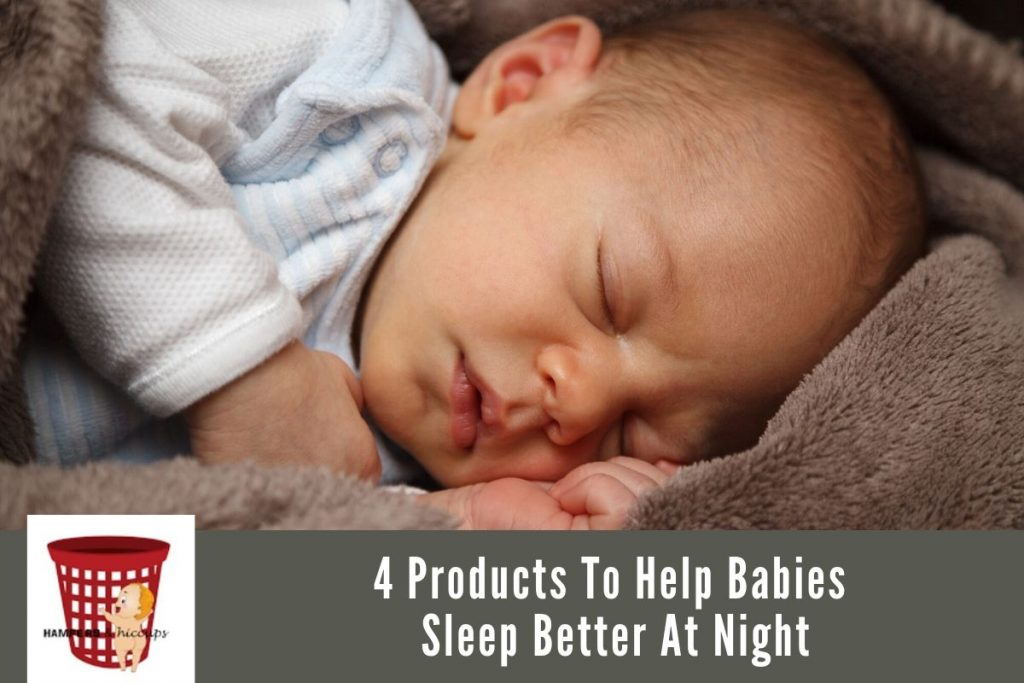 4 Products To Help Babies Sleep Better At Night