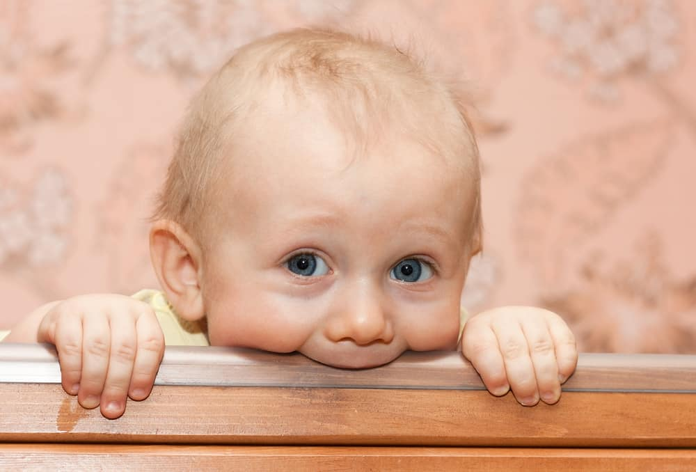 Babies Chewing On Cribs