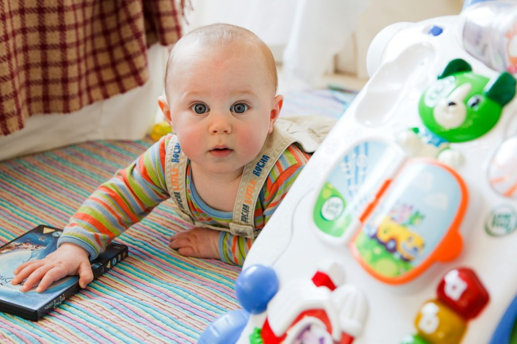 Safety Considerations in choosing toys for babies