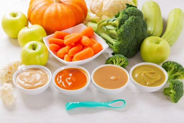various-homemade-baby-food