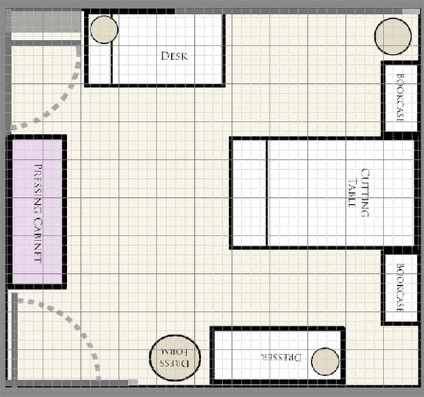 sewing-room-layout-option