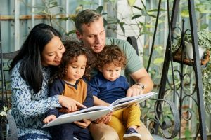 family-reading-a-book-together
