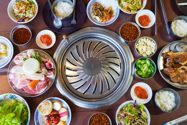 pork-korean-style-and-vegetable-for-barbeque