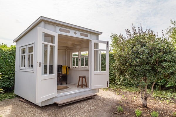 white-garden-shed