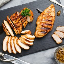 grilled chicken fillets in a spicy marinade picture