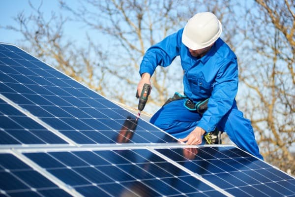 how to setup rooftop solar panels