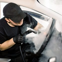 car detailing steam cleaning