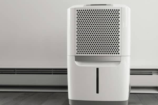 key features of a dehumidifier