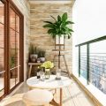 fancy balcony for your apartment